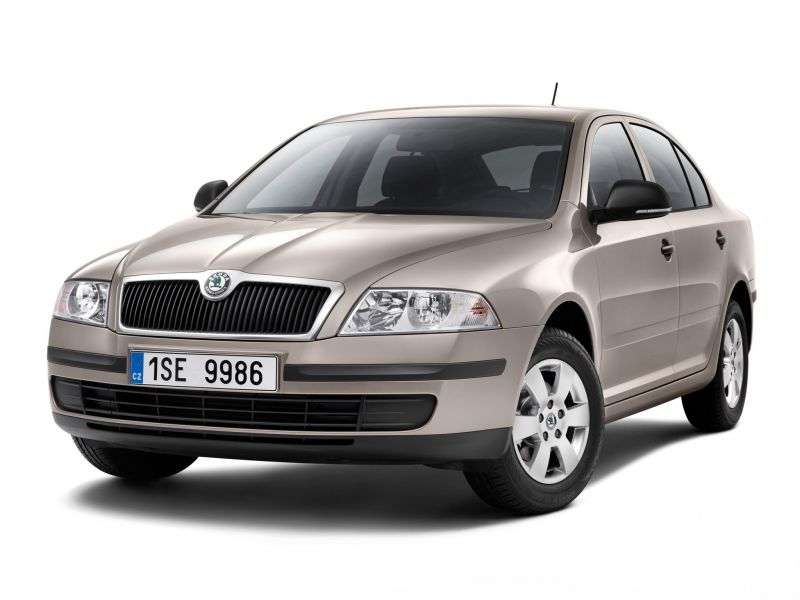 Skoda Octavia 2nd generation liftback 5 bit. 2.0 TDI DPF MT (2004–2008)