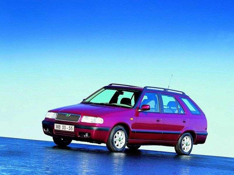 Skoda Felicia 1st generation [restyling] wagon 1.3 MT (1998–2000)