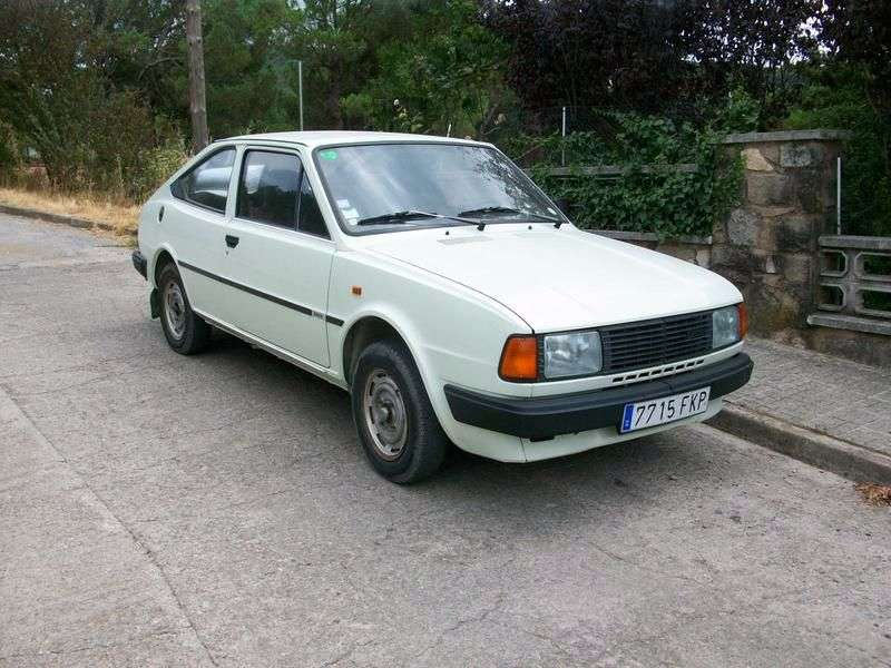 Skoda Rapid 1st generation coupe 1.3 MT (1985–1988)