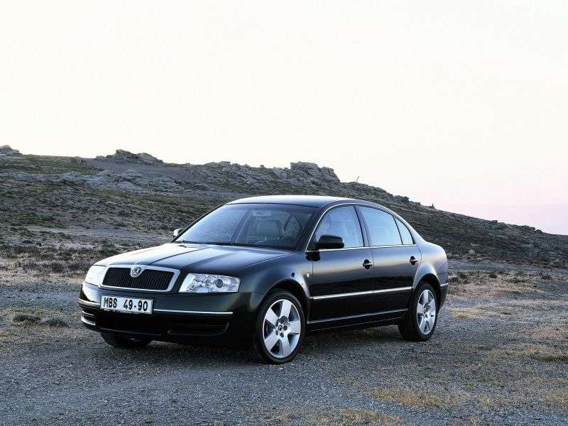 Skoda Superb 1st generation 1.9 TDI MT sedan (2005–2006)