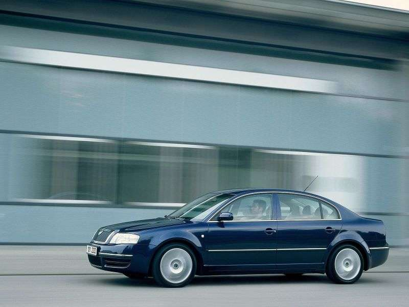 Skoda Superb 1st generation 1.8T MT sedan (2001–2006)