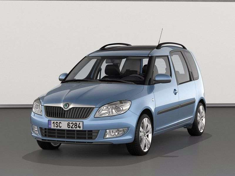 Skoda Roomster 1st generation [restyled] 5 door minivan 1.4 MPI MT Active (2010 – n. In)