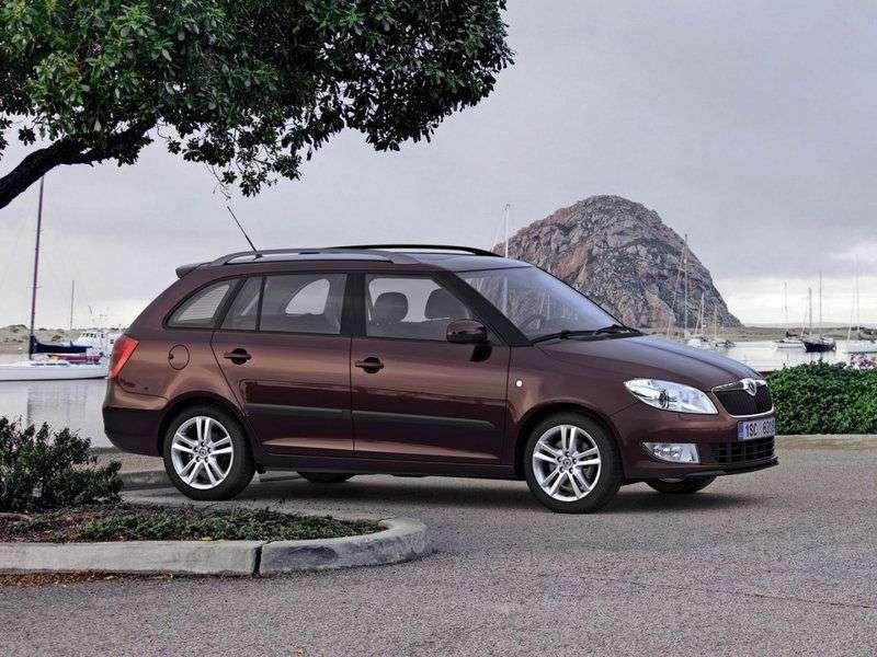 Skoda Fabia 5J [restyling] Combi wagon 5 dv. 1.6 MT Elegance (2010 – n. In.)