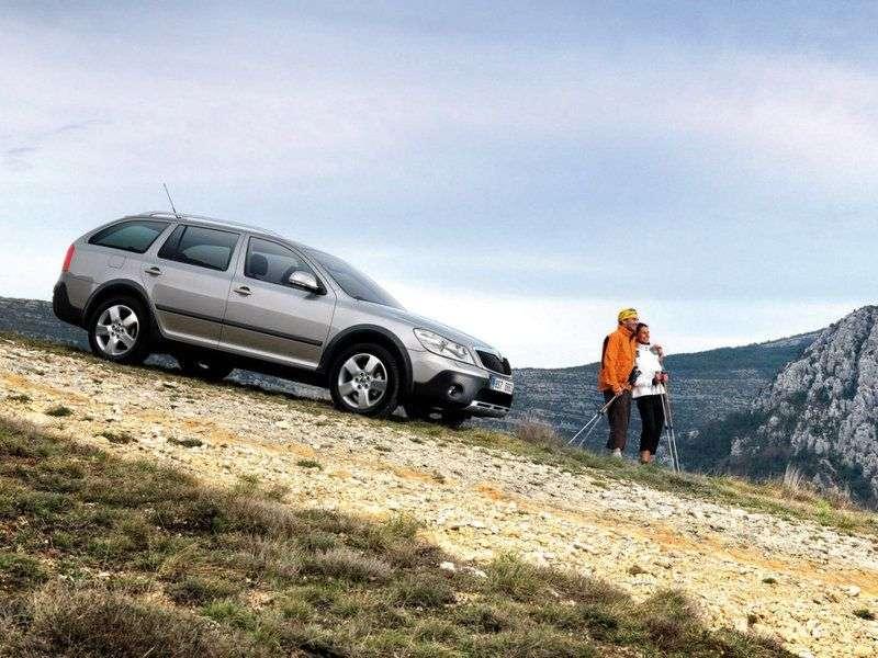 Skoda Octavia 2nd generation [restyling] Combi Scout wagon 5 dv. 2.0 DTI Euro V MT 4x4 (2010–2013)