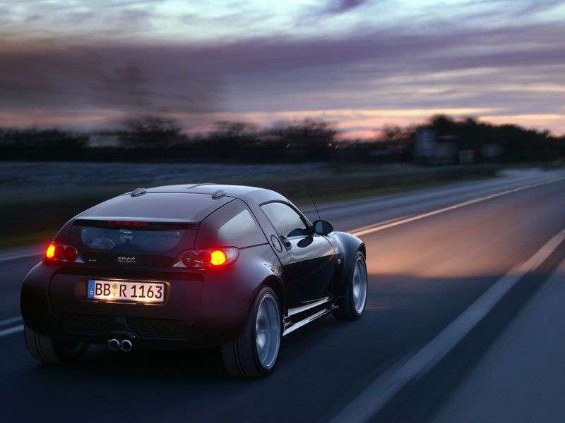 Smart Roadster 1st generation Brabus Targa 0.7 MT (2004–2005)