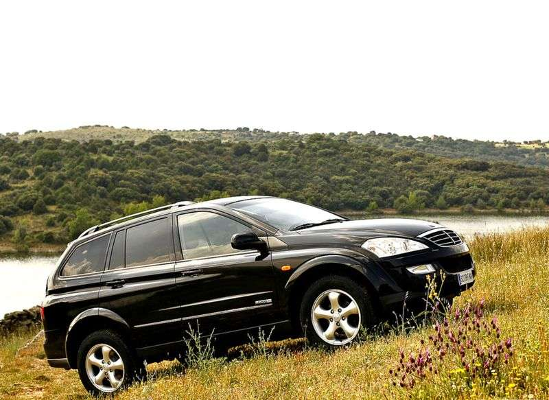 SsangYong Kyron 1st generation [restyling] 2.3 AT 4WD Comfort Crossover (2011) (2007 – current century)