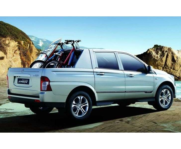 SsangYong Actyon 2nd generation Sports pickup 2.3 MT 4WD Comfort (2013 – v.)