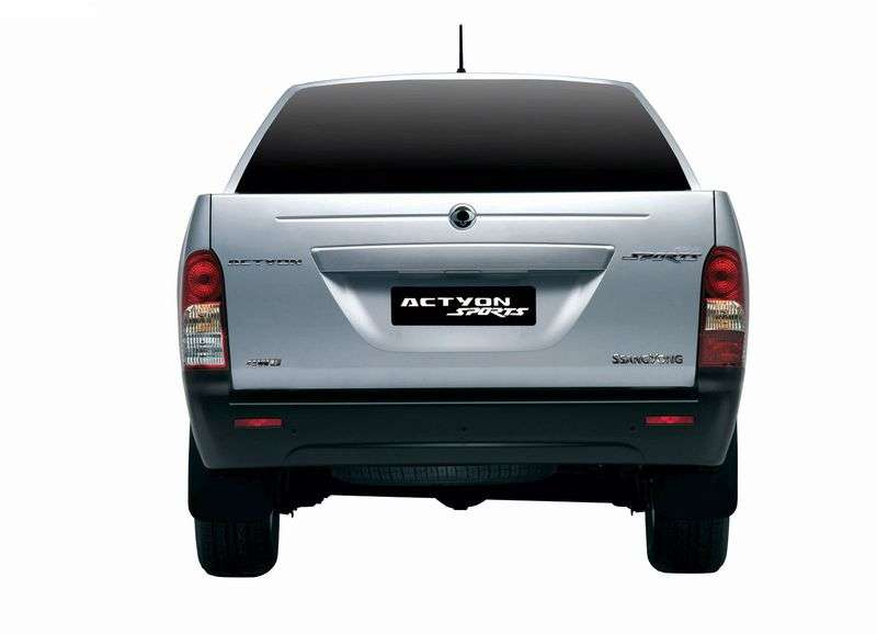 SsangYong Actyon 1st generation Sports pickup 2.0 Xdi AT Turbo 4WD Luxury (2007–2012)