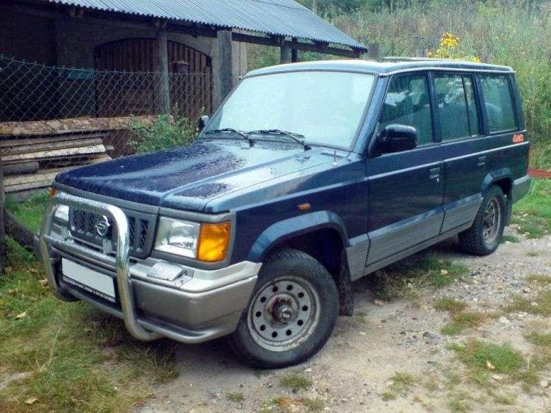 SsangYong Korando Family 1st generation SUV 2.2 MT D (1988–1995)