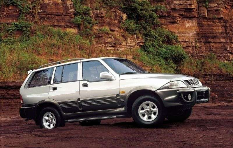 SsangYong Musso 2nd generation SUV 2.9 TDI MT (2002–2005)