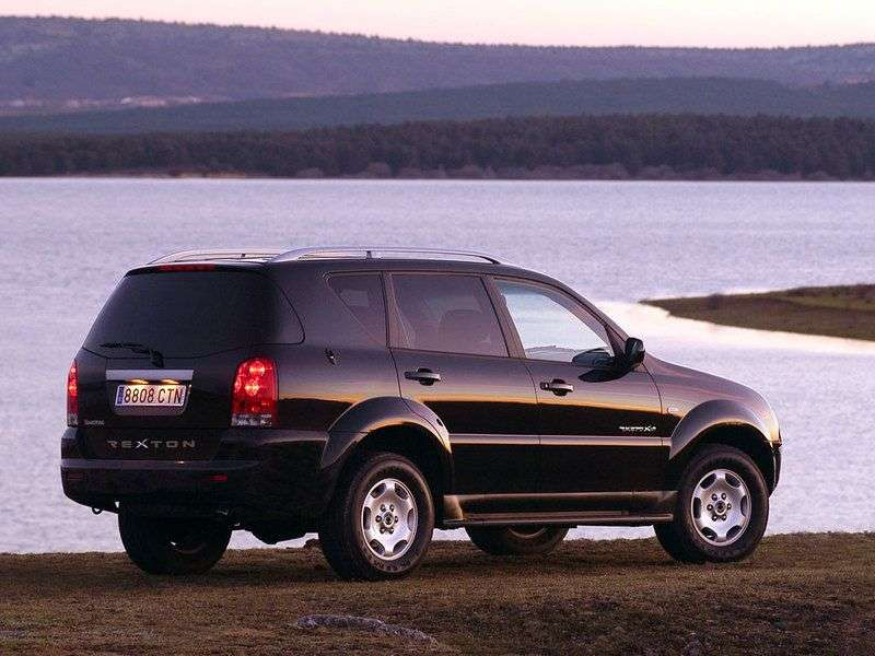 SsangYong Rexton 1st generation SUV 2.7 AT RX 270 Xdi (2004–2006)