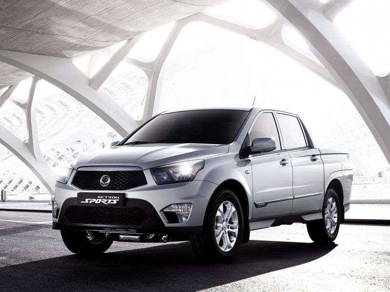 SsangYong Actyon 2nd generation Sports pickup 2.0 DTR MT 4WD Comfort (2013) (2012 – n.)