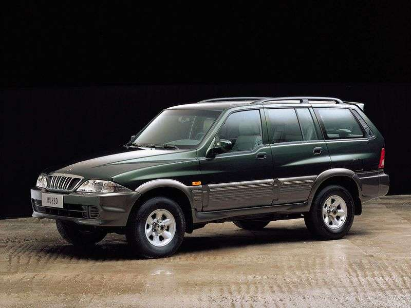 SsangYong Musso 1st generation [restyling] SUV E23 AT (2001–2002)