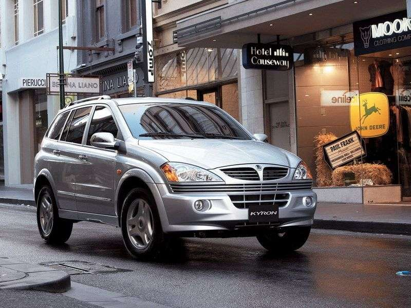 SsangYong Kyron 1st generation crossover 2.7 MT AWD (2005–2007)