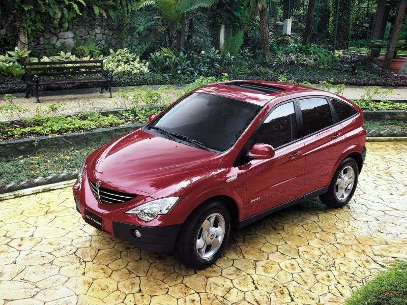 SsangYong Actyon 1st generation crossover 2.0 AT (2005–2010)