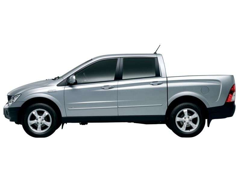 SsangYong Actyon 1st generation Sports pickup 2.0 Xdi AT Turbo 4WD Elegance (2007–2012)