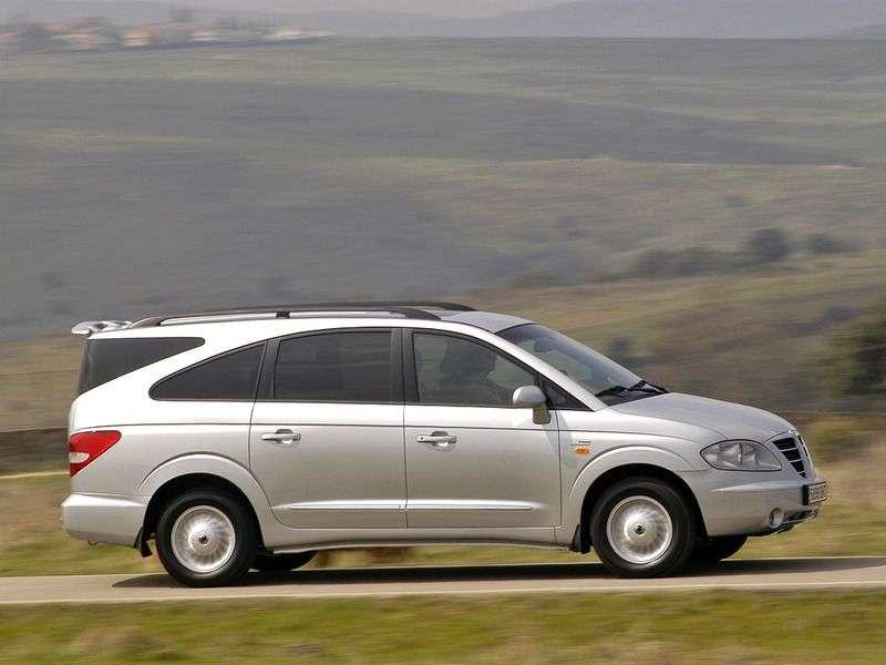 SsangYong Rodius 1st generation 3.2 AT 4WD minivan (2004–2007)