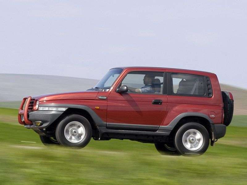 SsangYong Korando 2nd generation Hard top SUV 3 dv. 2.3 MT 4WD (1997–2006)