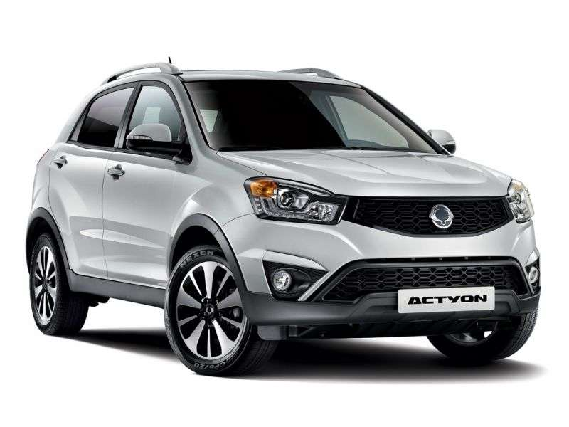 SsangYong Actyon 2nd generation [restyling] crossover 2.0 MT Original (2013 – in.)