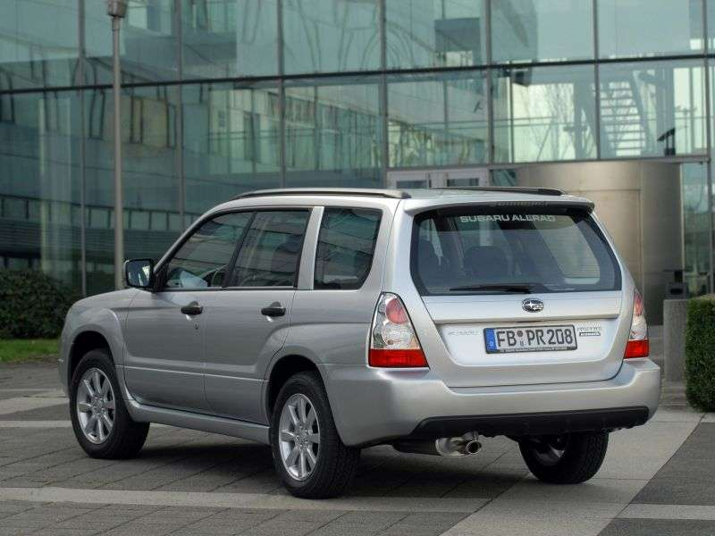 Subaru Forester 2nd generation [restyling] 2.5 MT AWD crossover (2005–2008)