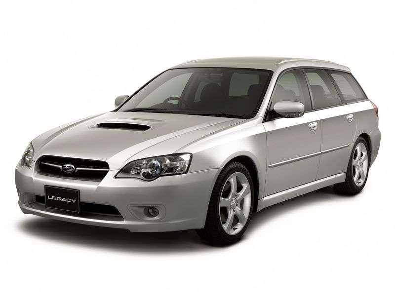 Subaru Legacy 4 generation wagon 2.0 MT 4WD (2003–2009)