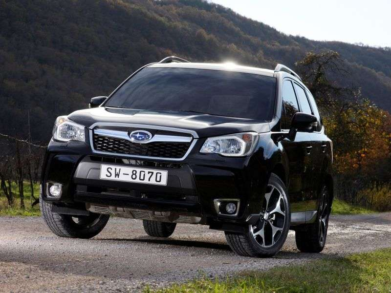 Subaru Forester 4 generation crossover 2.5i CVT AWD NS (2012 – n.)