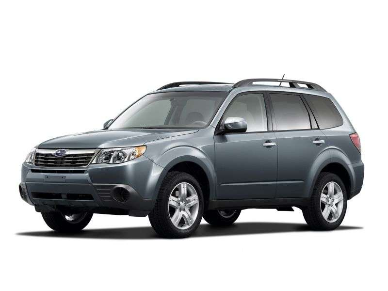 Subaru Forester 3rd generation Crossover 2.5XT E 4AT (2008–2011)
