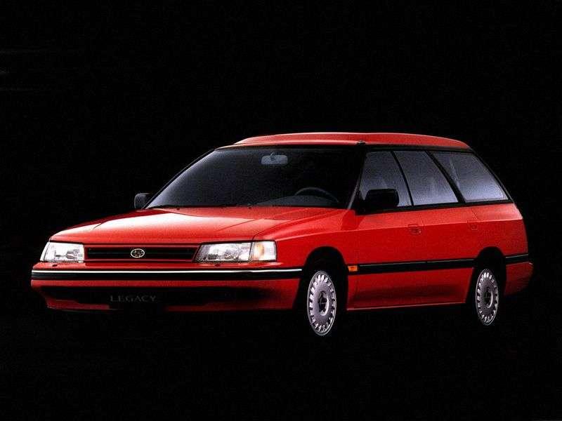 Subaru Legacy 1st generation wagon 1.8 MT 4WD (1989–1994)