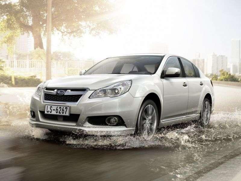 Subaru Legacy 5th generation [restyling] 2.5 AWD Lineartronic OA sedan (2012 – n.)