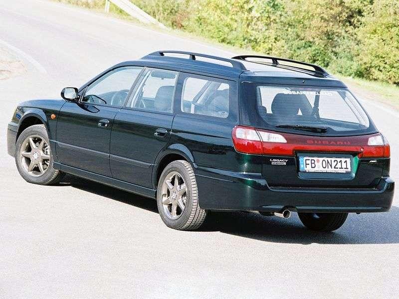 Subaru Legacy 3 generation wagon 2.5 MT 4WD (1998–2003)