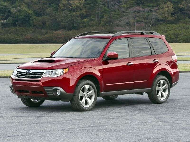 Subaru Forester 3rd generation crossover 2.5 MT AWD (2008–2011)