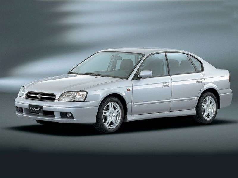 Subaru Legacy 3rd generation sedan 3.0 AT 4WD (2002–2003)