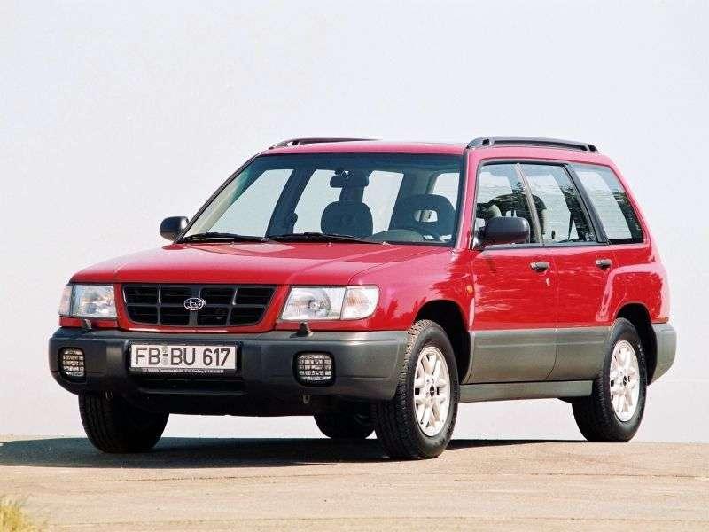Subaru Forester crossover pierwszej generacji 2.0 AT AWD Turbo S (1998 2000)