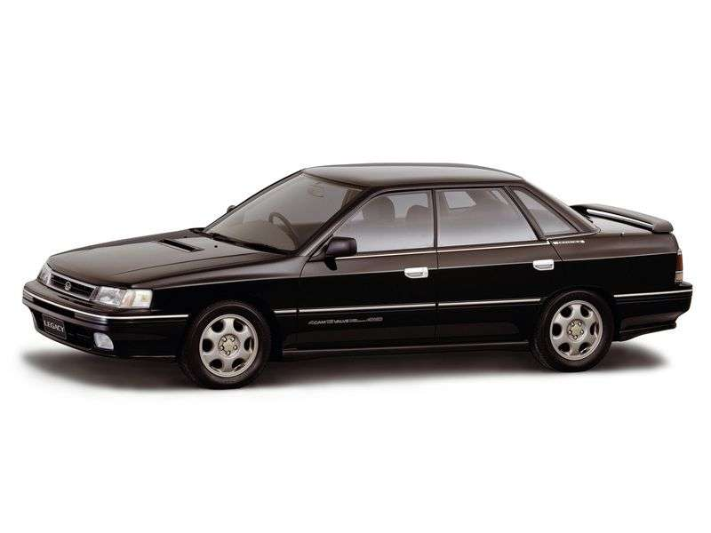 Subaru Legacy 1st generation 2.2 MT 4WD sedan (1989–1994)