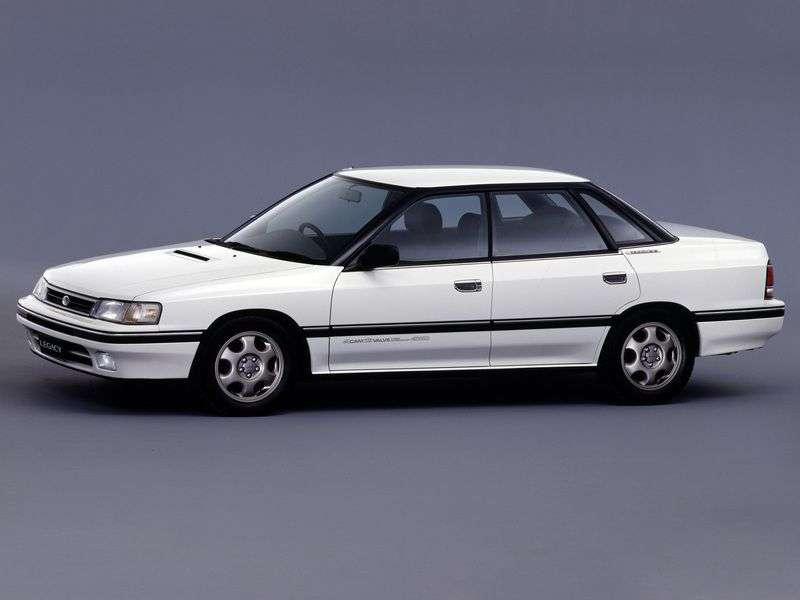Subaru Legacy 1st generation 2.0 Turbo MT 4WD sedan (1992–1994)