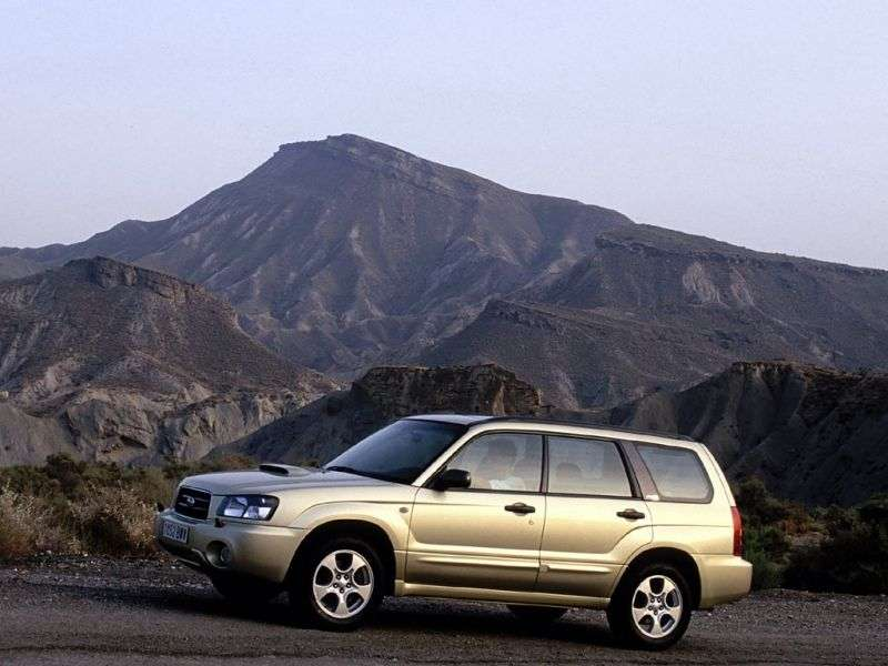 Subaru Forester 2nd generation crossover 2.0 AT AWD Turbo (2003–2005)
