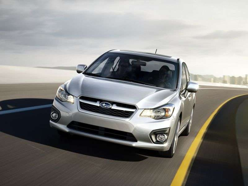 Subaru Impreza 4th generation sedan 2.0i S CVT EH (2012 – n.)