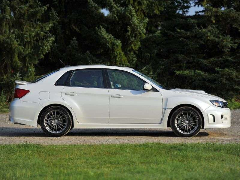 Subaru Impreza 3 generation [restyling] WRX sedan 4 doors. 2.5 MT AWD turbo AF (2011) (2010 – n. In.)