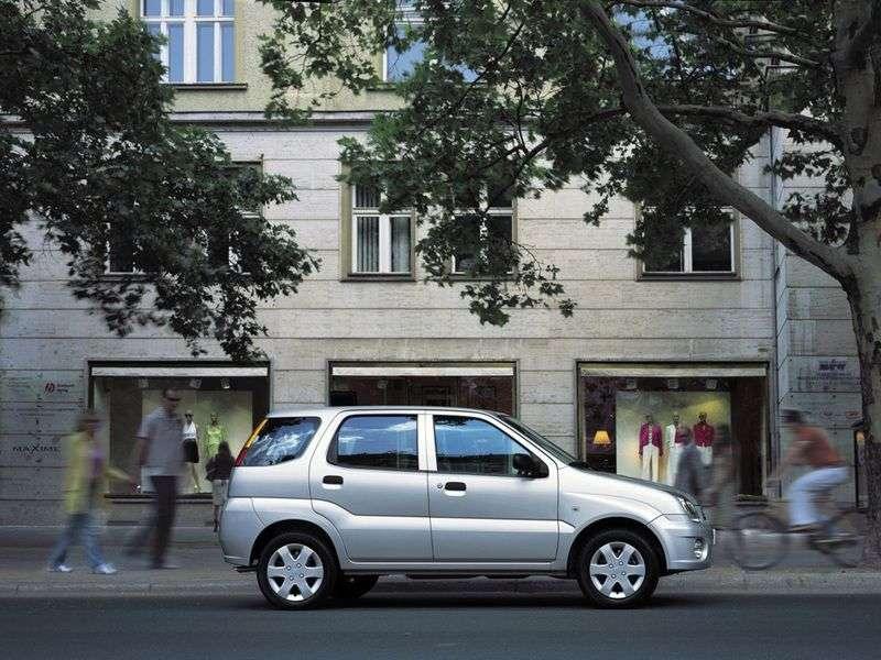 Subaru Justy 3 (G3X) 1.5 MT AWD Hatchback (2003–2007)