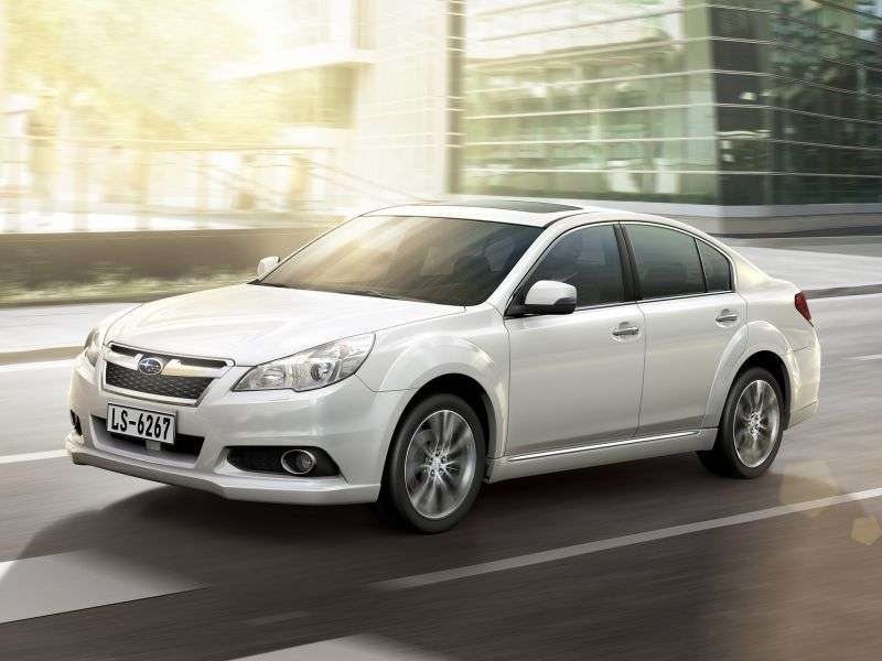 Subaru Legacy 5.generacja [zmiana stylizacji] sedan 2.5 Sport AWD Lineartronic PI (2012 obecnie)