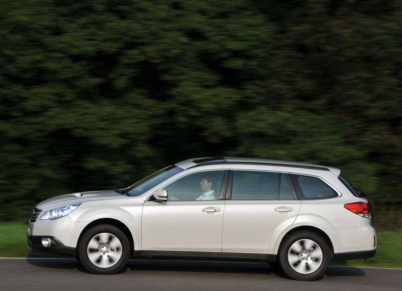 Subaru Outback 4 generation wagon 2.5 MT AWD BA (2011) (2009 – n.)