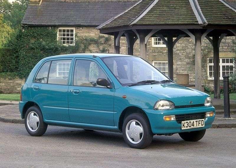 Subaru Vivio 1st generation hatchback 5 dv. 0.66 MT (1996–2000)