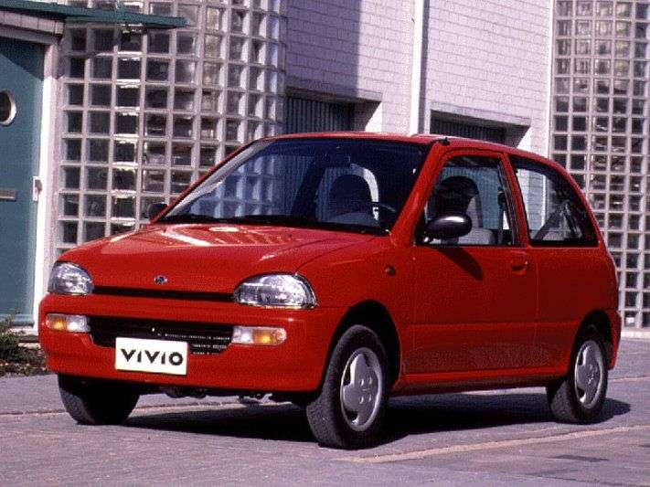 Subaru Vivio 1st generation hatchback 0.66 AT (1996–2000)