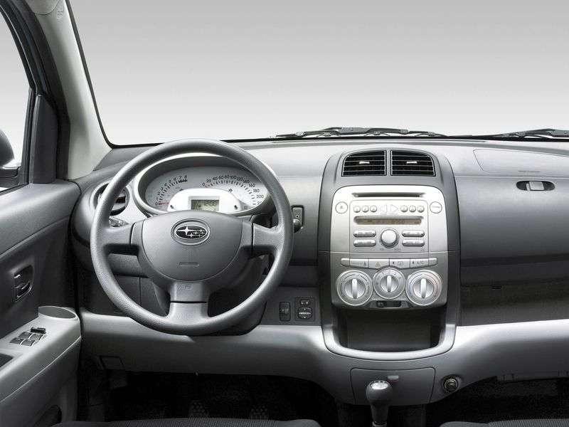 Subaru Justy hatchback 4 tej generacji 1.0 MT (2007 obecnie)