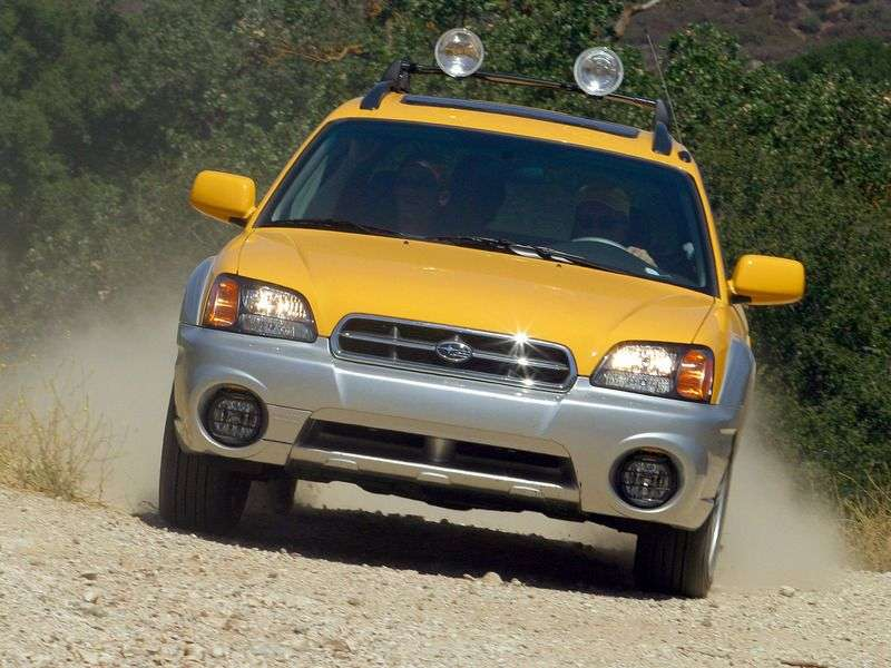 Subaru Baja 1st generation pickup 2.5 Turbo MT 4WD (2003–2006)