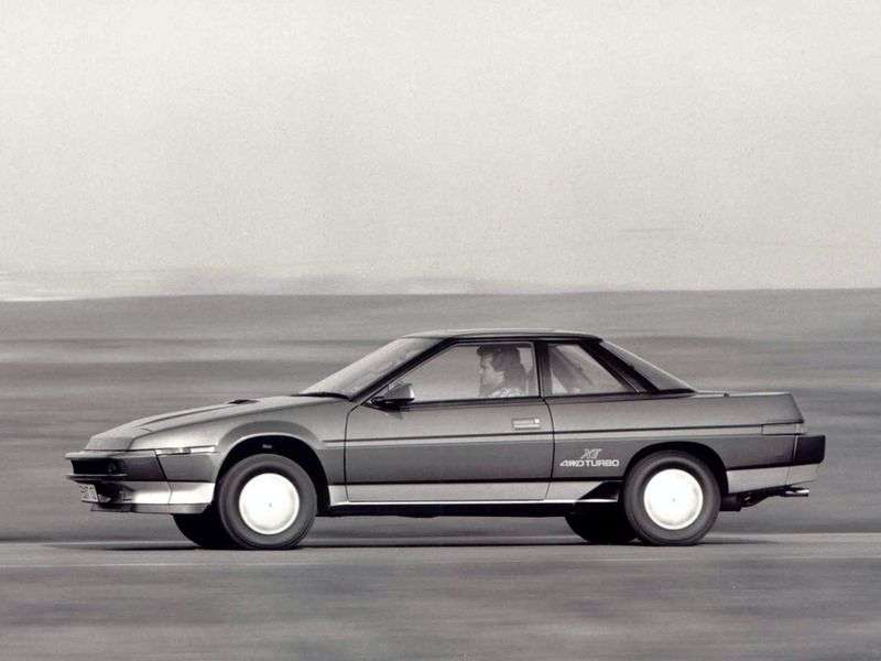 Subaru XT 1st generation coupe 2.7 MT AWD (1988–1992)
