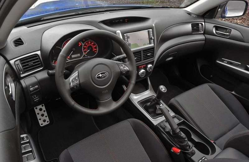 Subaru Impreza 3rd generation [restyling] WRX hatchback 5 bit. 2.5 Turbo MT AWD NR (2012) (2010 – current century)