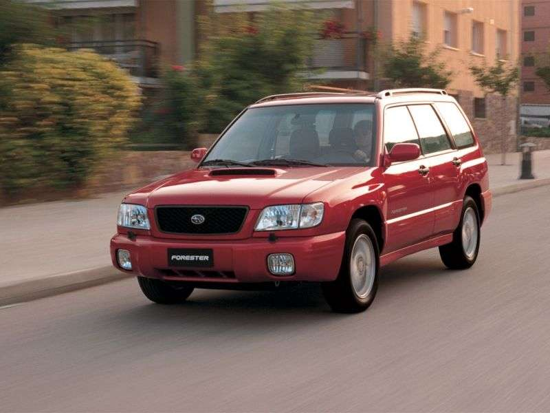 Subaru Forester 1st generation [restyled] crossover 2.0 AT AWD (2000–2002)