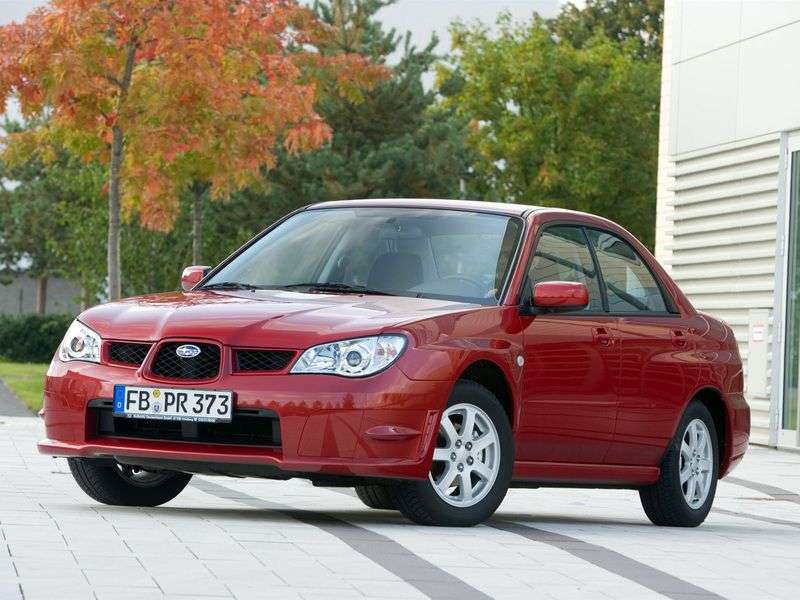 Subaru Impreza 2nd generation [2nd restyling] 2.5 MT sedan WRX STI AWD (2005–2007)