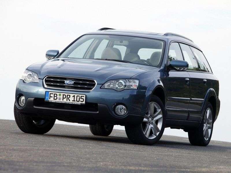 Subaru Outback 3 generation wagon 2.5 AT AWD (2003–2009)